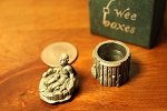 Wee Box Boy's  Tooth Fairy for  Molar Peweter Trinket Box