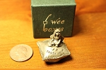 Wee Box Girl's Tooth Fairy Wee Peweter Trinket Box