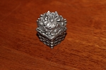 Wee Box Daisy or Sunflower mini pewter trinket box style 2