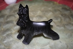 Black Schnauzer Lynda Pleet collectible figurine