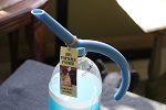 Portable pourer soda bottle watering can