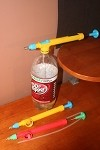 Handy Garden Pump Sprayer , fits 2 liter soda bottles