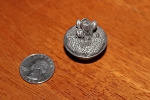 Wee Box Tulip or Crocus mini pewter trinket box