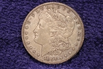 1896 S Morgan Silver Dollar VF