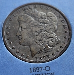 1897 O Morgan Silver Dollar VF