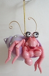 December Diamonds Harry the Hermit crab Ornament NIB