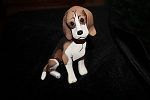 Collectible Beagle Lynda Pleet Harmony Ball kingdom